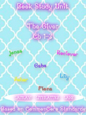 The Giver: Book Study Unit.  Chapters 1-3