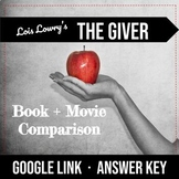 The Giver Book and Movie Comparison