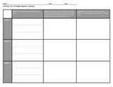 The Giver:  Ch. 1-5 Graphic Organizer