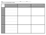 The Giver:  Ch. 16-20 Graphic Organizer