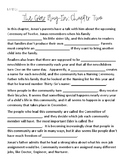 The Giver Chapter 2 Plug-In Handout