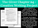The Giver Chapter 24 - Creative Writing Project