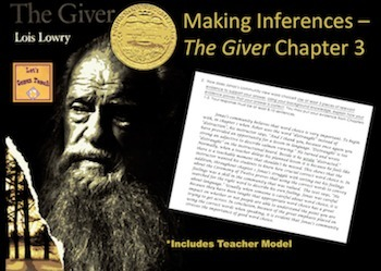 The Giver Chapter 3 - Making Inferences