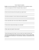 The Giver Chapter Questions (Ch.1-20)  Answer Key Included