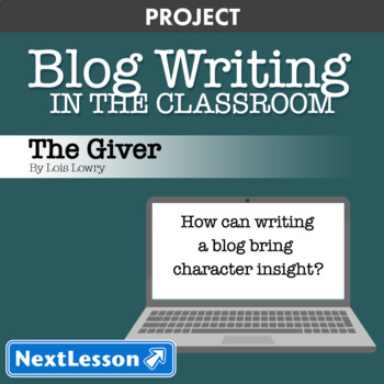 The Giver: Character Blog Writing - Project