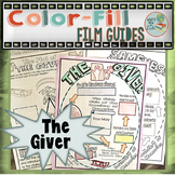 The Giver Color-Fill Film Guide Doodle Notes