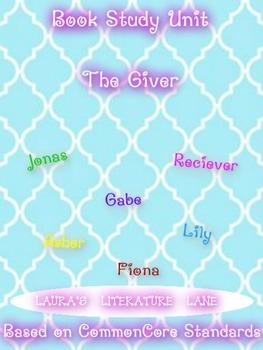 The Giver Common Core Based Literature Unit Study