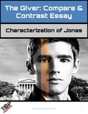 The Giver Compare & Contrast Essay: Jonas From Beginning to End