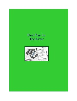 The Giver Complete Literature and Grammar Unit