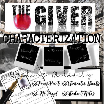 The Giver Novel Study: Complete Unit Bundle (70+ Pages of Activities)