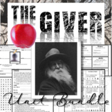 The Giver Novel Study: Complete Unit Bundle (80+ Pages of