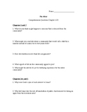 The Giver Comprehension Questions