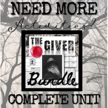 The Giver: 50+ Chapter Questions for Class Discussion and Individual Assessment