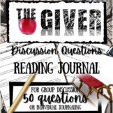 The Giver Novel Study Lessons: 50+ Chapter Questions