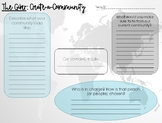 """The Giver """"Create-a-Community"""" Novel Intro. Activity"""