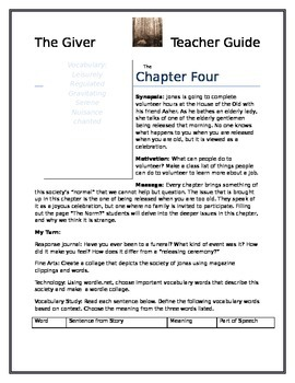 The Giver Deluxe Teacher Guide and Small Group Student Guide