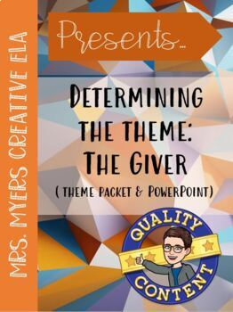 The Giver: Determine the Theme