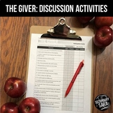The Giver: Socratic Seminar & Discussions about the Novel