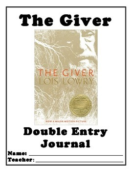 The Giver Double-Entry Journal