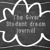 The Giver: Dream Journal