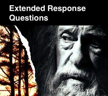 GIVER - Extended Response Questions