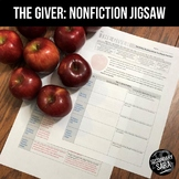 The Giver: FREE Non-Fiction Reading Activity