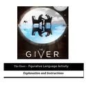 The Giver - Figurative Language Activity