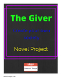 The Giver: Final Project