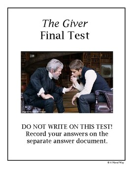 The Giver Final Test
