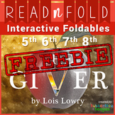 The Giver Foldables and Activities - FREEBIE - Read N Fold