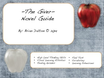The Giver Free Demo Chapter's 1 - 5