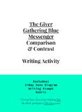 The Giver, Gathering Blue & Messenger 3-Way Venn Diagram