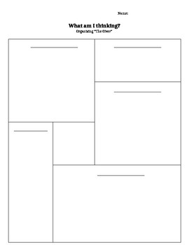 The Giver - Graphic Organizer