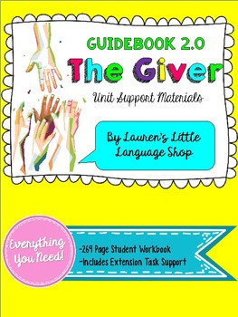 Louisiana Guidebook: The Giver Compatible Workbook