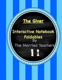The Giver Interactive Literature and Grammar Notebook Foldables