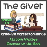The Giver: Letter Writing