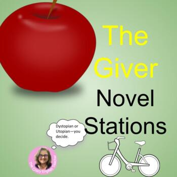 The Giver : Literacy Stations Common Core