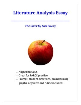The Giver- Literature Analysis Essay