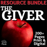 The Giver Novel Study BUNDLE | GOOGLE - DISTANCE LEARNING
