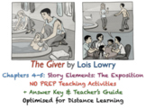 The Giver (Lois Lowry) - Chapters 4-5 - Exposition - ACTIVITIES + ANSWERS