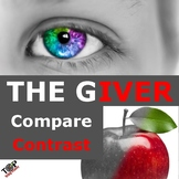 The Giver Lois Lowry Compare and Contrast Writing Unit