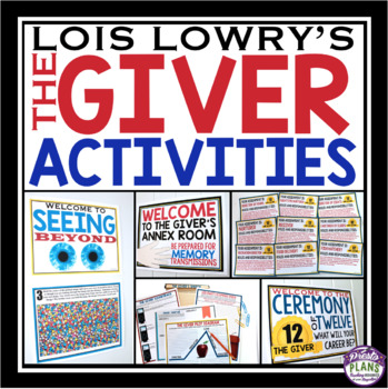 GIVER ACTIVITY BUNDLE