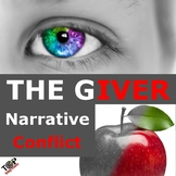 The Giver Lois Lowry Narrative Internal External Conflict