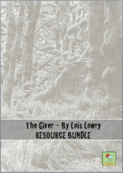 The Giver - Lois Lowry ~ RESOURCE BUNDLE