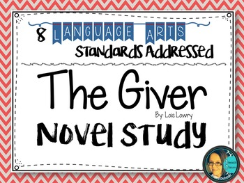 The Giver - Novel Study - Reading Comprehension