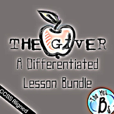 The Giver - DIFFERENTIATED Lesson Bundle & Novel Study {CC