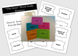 The Giver Novel Study Resource - Draw It: Scenes from the Book