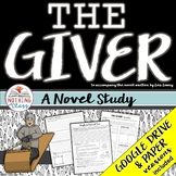 The Giver Novel Study Unit: comprehension, vocabulary, activities, tests