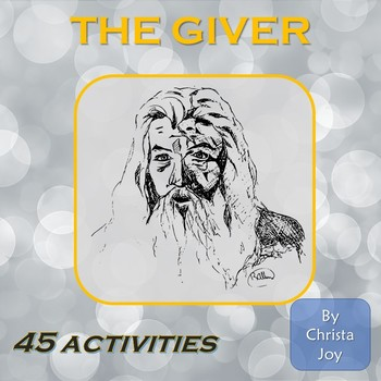 The Giver Novel Study for Special Education