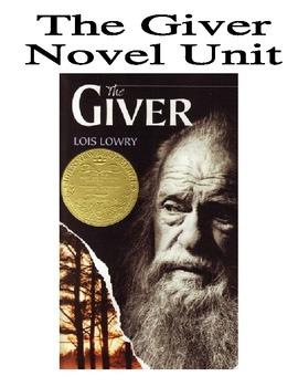 The Giver Novel Unit